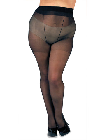 Satin Tights- Extended Size