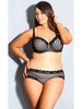 Fifi Brief- Black Latte