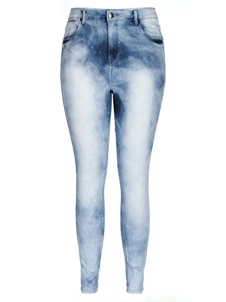 Sky Apple Skinny Jean