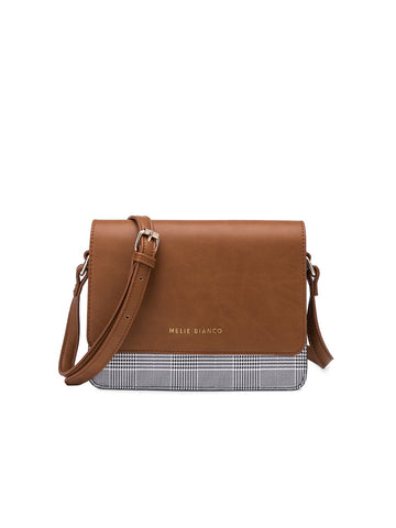 Desi Cross Body Bag In Saddle