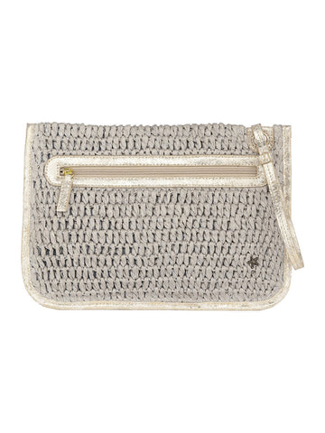 Baytown Wristlet In Frost And Silver