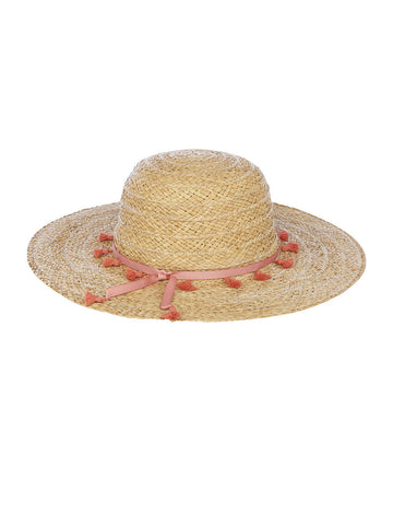 Julissa Sunhat In Frappe And Salmon