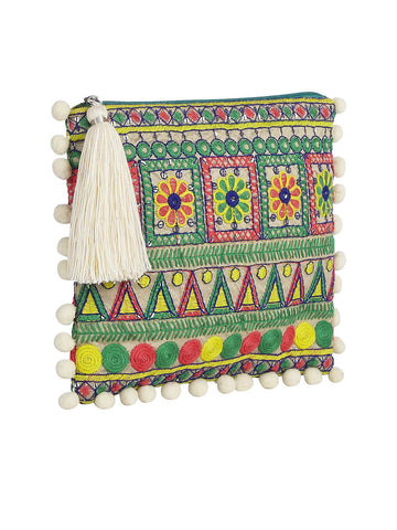Karachi Clutch In Tropic