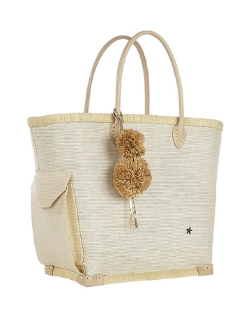 Lido Large Tote In White
