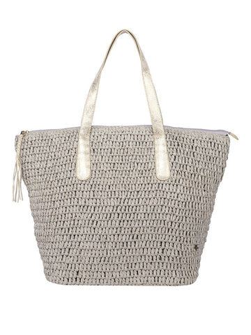 Montrose Tote In Frost And Silver