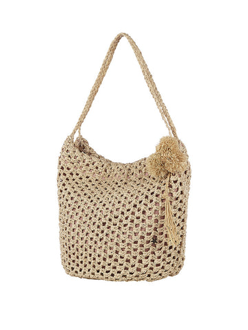 Tayrona Handbag In Birch And Natural