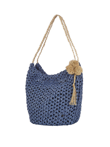 Tayrona Handbag In Mistique And Natural