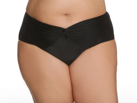 Tea Garden Swim Brief In Black