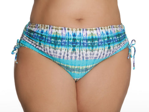 Aphrodite Swim Bottom Multi Turquoise