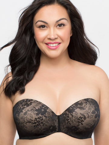 Strapless Sensation Bra In Black