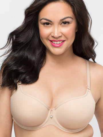 Tulip Smooth Push Up Bra In Bombshell Nude