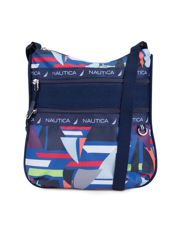 Captains Quarter Crossbody In Sailboat Cruise