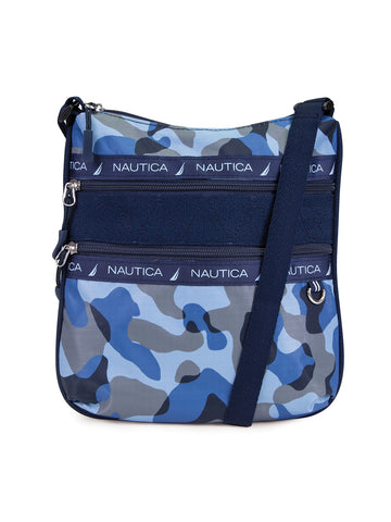 Captains Quarter Crossbody In Camo