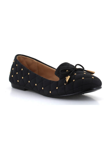 Chloe Smoker Flat In Black