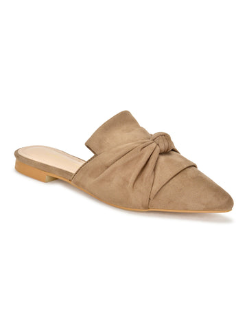 Dawn Flats In Taupe