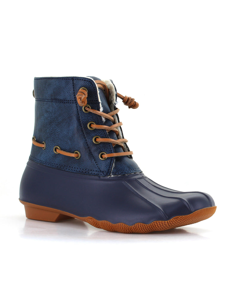 Deanston Duck Boot In Navy
