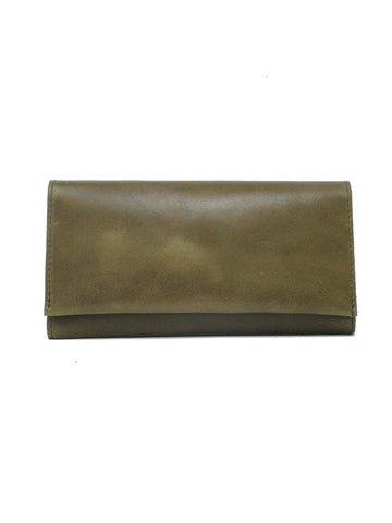 Debre Wallet In Olive
