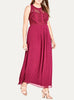 Paneled Bodice Maxi Dress