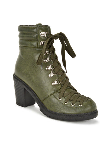 Emily Boots In Olive