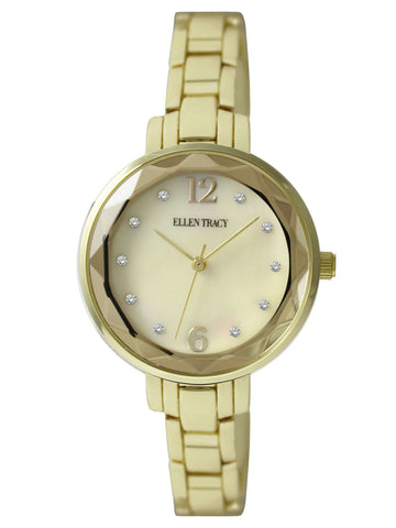 Gold Mother of Pearl Watch