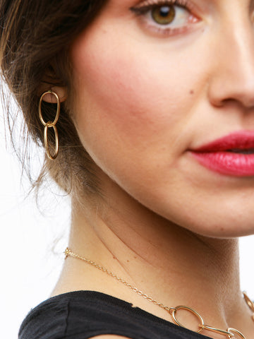 Eden Earrings In Gold Tone
