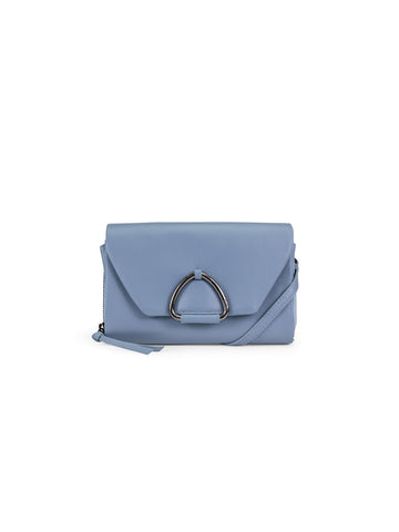 Tasha Wallet In Sky Blue