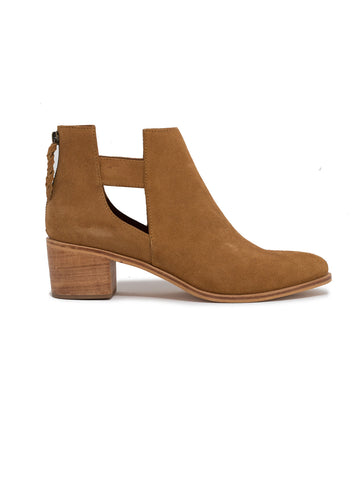 Gamboa Cut Off Bootie In Cognac