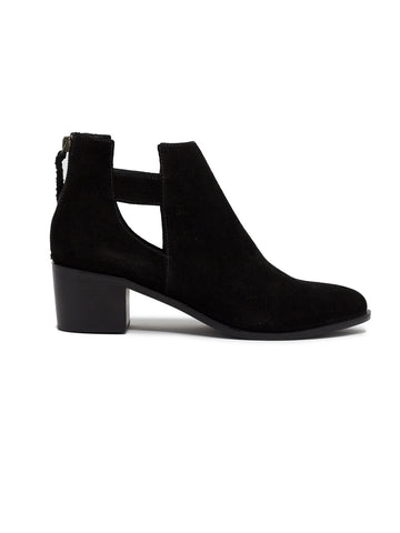 Gamboa Cut Off Bootie In Black