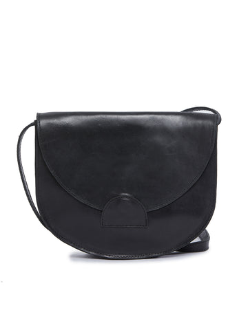 Hana Saddlebag In Black
