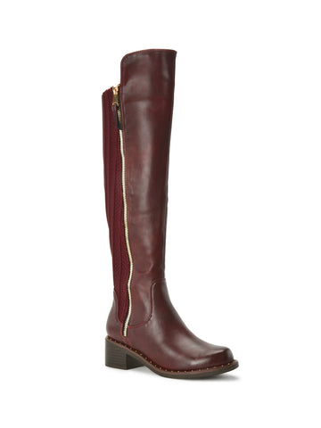 Juliette Boots In Burgundy