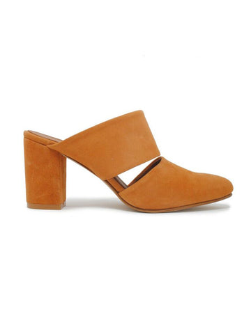 Joselyne Mule In Chestnut