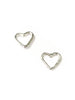 Junibel Sweetheart Stud Earrings