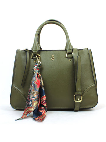 Sofia Satchel In Olive