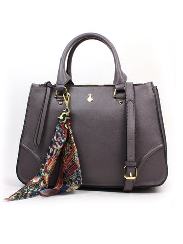 Sofia Satchel In Graphite