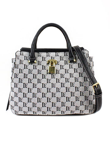 Kate Satchel In White And Black