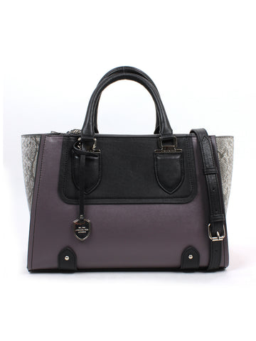 Kensington Triple Tote In Graphite Colorblock