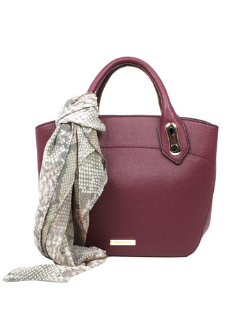 Wembley Triple Satchel In Berry