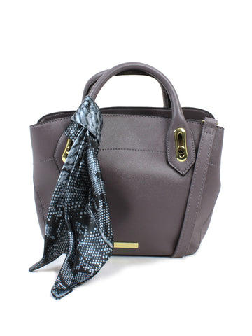 Wembley Triple Satchel In Graphite