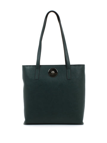 Luna Shopper In Teal Green