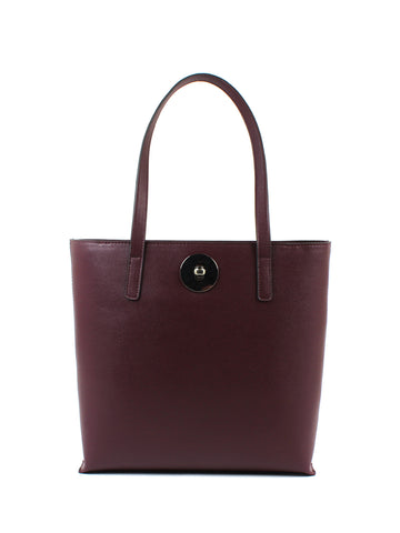 Luna Shopper In Cordovan