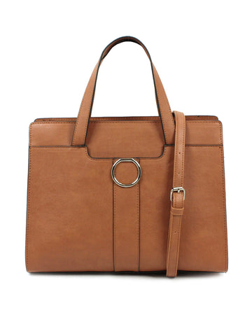 Ellie Satchel In Cognac