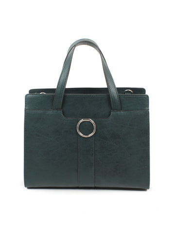 Ellie Satchel In Teal Green