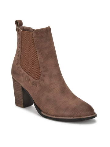 Penolope Boots In Cognac