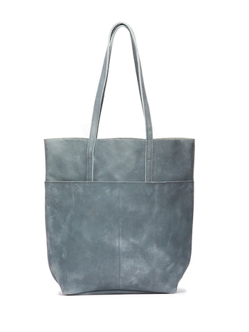 Selam Magazine Tote In Denim Blue