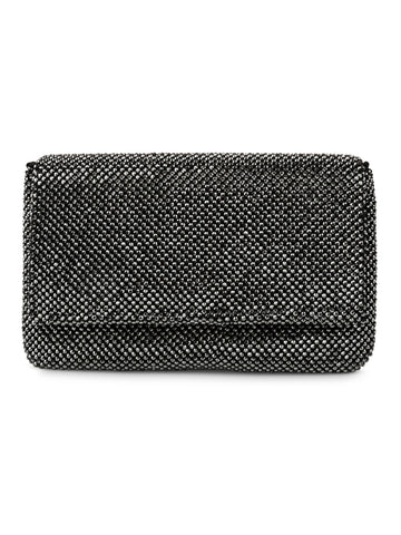 Cassie Mesh Clutch In Black