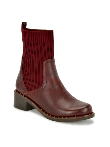 Violette Boots In Burgundy