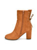 Zanette Boots In Chestnut