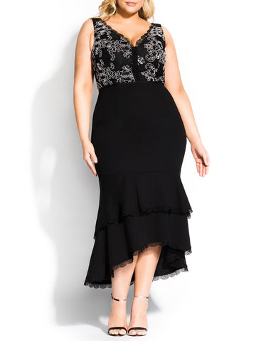 Sweet Occasion Dress In Black