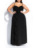 Catalina Maxi Dress In Black