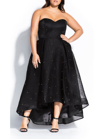 Sweet Jewel Maxi Dress In Black